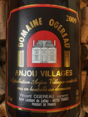 Vincent Ogereau Anjou Villages 2009