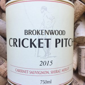 Brokenwood Cricket Pitch Red 2015