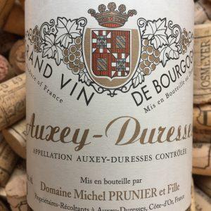 Michel Prunier et fille Auxey Durresses Blanc 2014