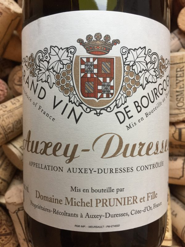 Michel Prunier Auxey Duresses Blanc 2017
