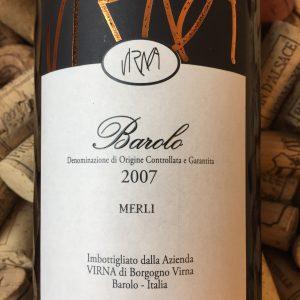 Virna Borgogno Barolo Merli 2007