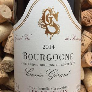 Gerard Seguin Bourgogne Pinot Noir Cuvee Gerard 2014