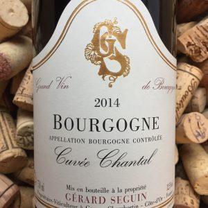 Gerard Seguin Bourgogne Pinot Noir Cuvee Chantal 2014