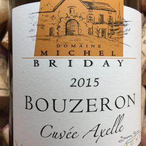 Michel Briday Bouzeron Cuvee Axelle 2015