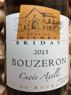Michel Briday Bouzeron Cuvee Axelle 2015