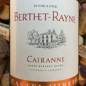 Andre Berthet Rayne Castel Meiro Blanc Cairanne 2014