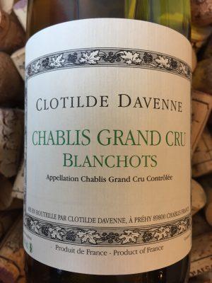 Clotilde Davenne Chablis Grand Cru Blanchot 2013
