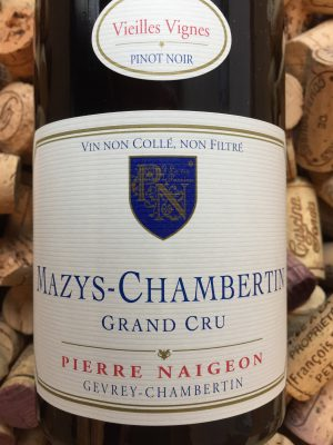Pierre Naigeon Mazys Chambertin Grand Cru 2012
