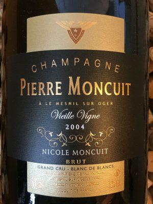 Pierre Moncuit Champagne Cuvee Nicole Vieilles Vignes Blanc des Blancs Grand Cru MAGNUM