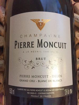 Pierre Moncuit Grand Cru Champagne Extra Brut 2008