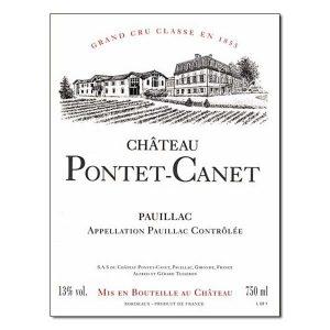Chateau Pontet Canet Pauillac 5e Grand Cru Classe 2010