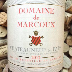 Domaine de Marcoux Chateauneuf du Pape 2012