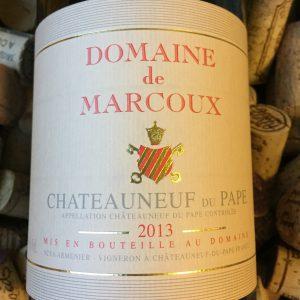 Domaine de Marcoux Chateauneuf du Pape 2013