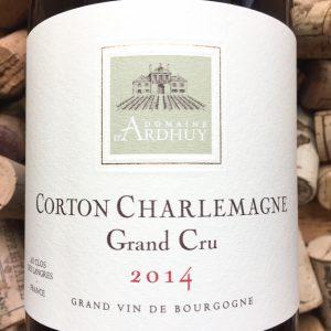 Domaine d'Ardhuy Corton Charlemagne Grand Cru 2014