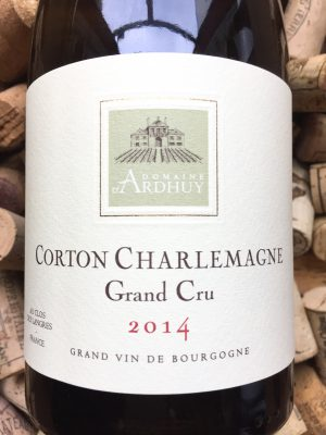 Domaine d'Ardhuy Corton Charlemagne Grand Cru 2014