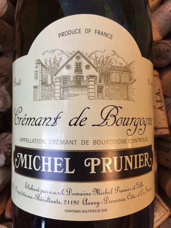 Michel Prunier et fille Cremant de Bourgogne NV