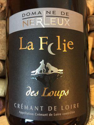 Domaine de Nerleux Cremant de Loire La Folie des Loupes NV