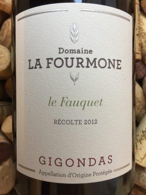 Domaine La Fourmone Gigondas Le Fauquet 2012