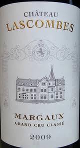 Chateau Lascombes Margaux 2e Grand Cru Classe 2009