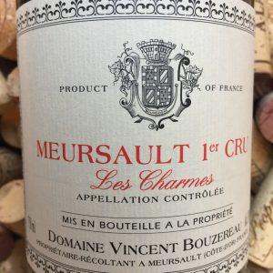 Vincent Bourzereau Meursault 1er Cru Les Charmes 2013