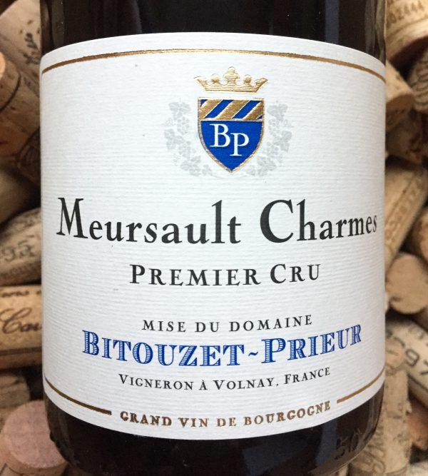 Bitouzet Prieur Meursault 1er Cru Les Charmes 2014