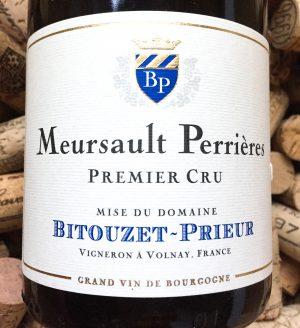 Bitouzet Prieur Meursault 1er Cru Perrieres 2014
