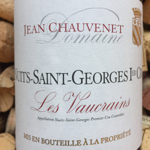 Jean Chauvenet Nuits Saint Georges Premier Cru Vaucrains 2008