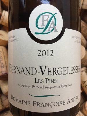 Domaine de Terregelesse - Francoise Andre Pernand Vergelesses 2012