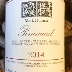 Mark Haisma Pommard 1er Cru Clos les Arvelets 2014