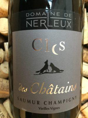 Domaine de Nerleux Clos des Chatains Saumur Chamigny 2014