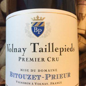 Bitouzet Prieur Volnay Premier Cru Taillepieds 2012