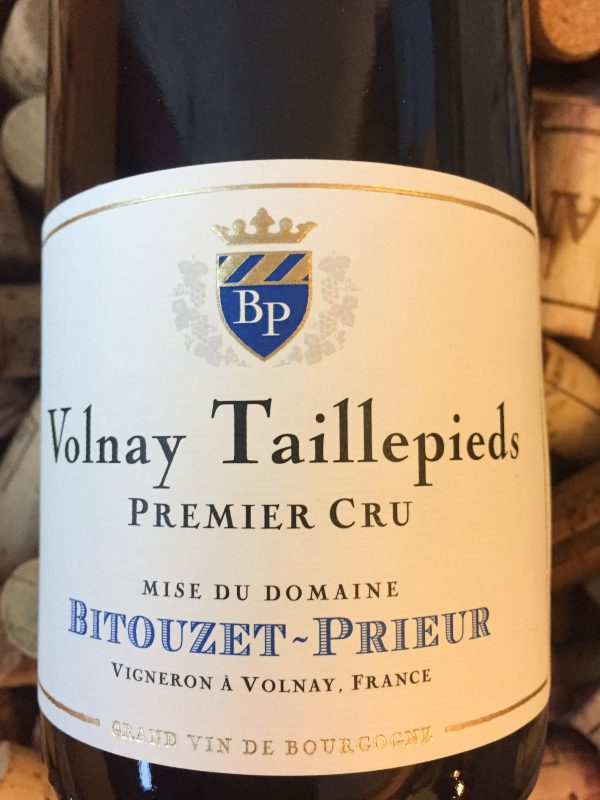 Bitouzet Prieur Volnay Premier Cru Taillepieds 2018