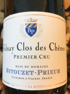 Bitouzet Prieur Volnay Premier Cru Clos des Chenes 2012