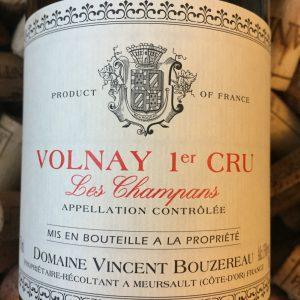 Vincent Bouzereau Volnay Premier Cru Les Champans 2010