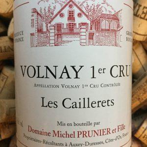 Michel Prunier Volnay 1er Cru Les Caillerets 2010