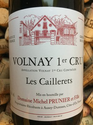 Michel Prunier Volnay 1er Cru Les Caillerets 2010