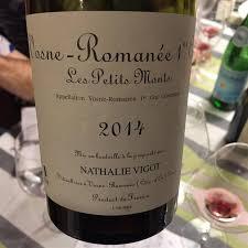 Nathalie Vigot Vosne Romanee 1er Cru Les Petits Monts 2014
