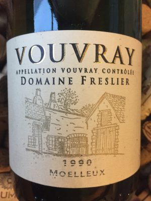 Domaine Freslier Vouvray Moulleux 1990