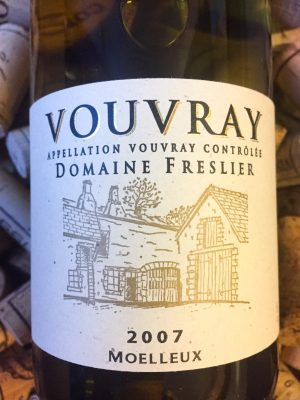 Domaine Freslier Vouvray Moulleux 2007