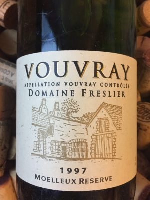 Domaine Freslier Vouvray Moulleux Reserve 1997