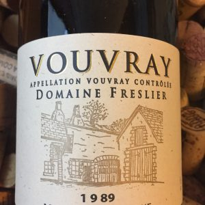 Domaine Freslier Vouvray Moulleux Reserve 1989