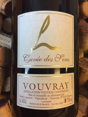 Domaine de Lauriers Vouvray Sec Cuvee des Sens 2019