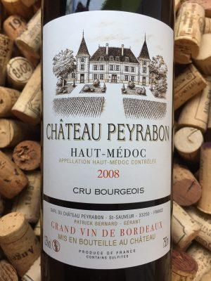 Chateau Peyrabon Haut Medoc 2008