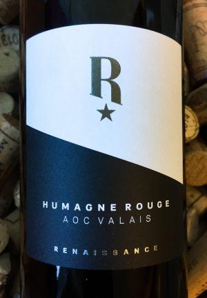 Renaissance Humagne Rouge Plaisir AOC Valais 2015