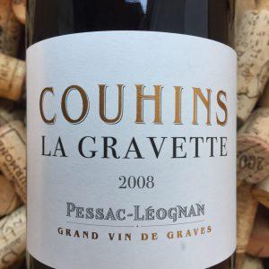 Couhins la Gravette Pessac Leognan 2008