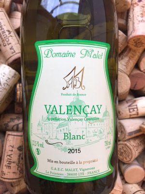 Domaine Malet Valencay Blanc 2019