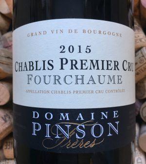 Domaine Pinson Chablis 1er Cru Fourchaume 2015