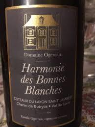 Domaine Ogereau Cot. du Layon Harmonie Bonnes Blanches 2014