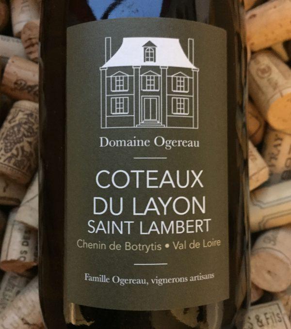 Domaine Ogereau Coteaux du Layon Saint Lambert 2018