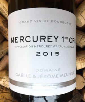 Domaine Meunier Mercurey Blanc 1er Cru 2015